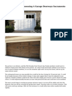 The Mishaps Of Possessing A Garage Doorways Sacramento