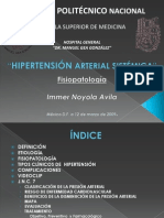 HIPERTENSIÓN ARTERIAL SISTÉMICA JNC7. Dr  Immer Noyola Avila