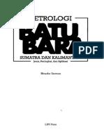 Petrologi Batu Bara Sumatra Dan Kalimantan Jenis Peringkat Dan Aplikasi