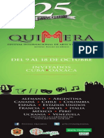 Programa Quimera Metepec 2015