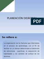 planescion didactica
