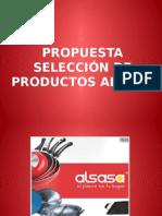 Propuesta Inicial Productos Alsasa