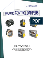 Volume Control Dampers Catalogue1