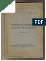 Gh. Pavelescu - Cercetari Asupra Magiei La Romanii Din Muntii Apuseni