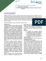 Factors Affecting Investment Behavior in Pakistan