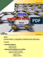 ME62H 2 2015 2 Ligações Atomicas
