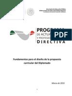 Fundamentos Del PAyPD-13marzo2015