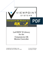 6K VI Motion Library Manual