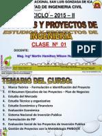 Clase 1 Proyectos 2015 II Final
