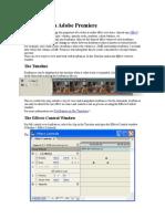 Keyframes in Adobe Premiere
