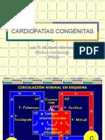 CARDIOPATÍAS CONGÉNITAS - exposición