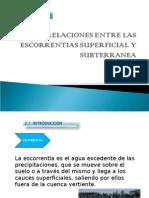 Zarate Ruiz Relaciones Entre Las Escorrentias Superficial y Subterranea