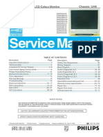 Philips 200p6 Service manual