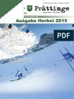 Tuxer Prattinge - Ausgabe Herbst 2015