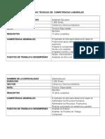 Especificaciones Tecnicas Educ. Tec