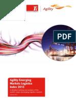 2013 Emerging Markets Logistics Index