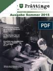 Tuxer Prattinge - Ausgabe Sommer 2015