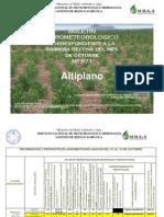 BOLETÍN AGROMETEOROLOGICO correspondiente a la primera decena del mes de octubre Nº 871 -  Altiplano.pdf