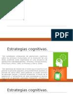 estrategias cognitivas.
