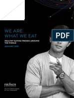 Nielsen Global Health and Wellness Report - We Are What We Eat ~ Healthy Eating Trends Around the World - January 2015