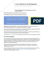 Format30.Com-Comment Choisir Mon Logiciel de Mindmapping