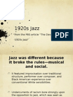station 1920s jazz