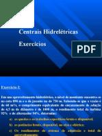 PEA 2420 Produção de Energia Elétrica _ Exercícios Centrais Hidrelétricas.pptx