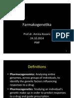 farmakogenetika