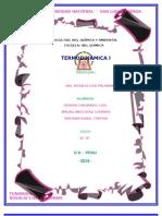 Equipos y Su Aplicacion en La Primera Ley de La Termodinamica