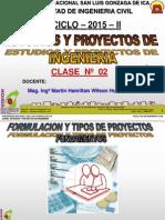 Clase 2 Proyectos 2015 i