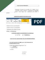 Dimensionamento de instalações hidraúlicas de um edifício