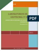 Guias Todas de Geotecnia i y II para ensayos de lanoratorio