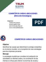 CAPITULO 8-COMPETIR POR UBICACION Y MICHAEL PORTER