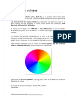 Teoría de Las Ondas - Sistema de Colores