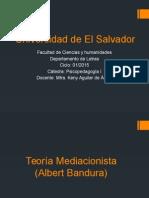 Albert Bandura Teoría  Mediacional