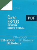 Curso Eb-103 Circuito de Corriente Alternada (Primera Parte)