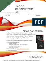 Breaking Protected Processes (Alex Ionescu, NSC 2014)