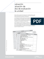 Evaluación 1eso Bioygeo Prueba Ficha Auto Coevaluación Un1