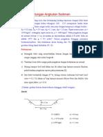 Contoh Soal Angkutan Bed Load #1
