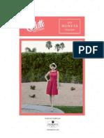 Colette Patterns 1028 Moneta Fr Instructions