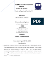 P.1 Difusion Binaria en Gases