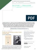 ARCHITECTURE + URBANISM_ Camillo Sitte_ City Planning According to Artistic Principles (1889).pdf