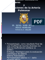 2. Enfermedades Vasculares Pulmonares y Alteraciones de La Arteria Pulmonar I - Dr. Rafael Reaño Ortega