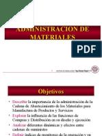 2. Administración de Materiales