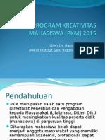 Sosialisasi Pkm 2015