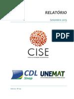 Relatório CISE - Setembro de 2015