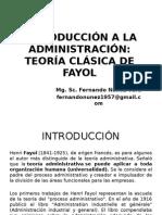 Teoria de Fayol