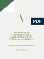 Fortalecendo Competência e Autoconfiança Na Performance Musical eBook