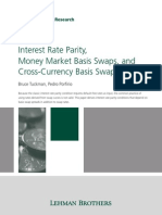 [Lehman Brothers, Tuckman] Interest Rate Parity, Money Market Baisis Swaps, And Cross-Currency Basis Swaps