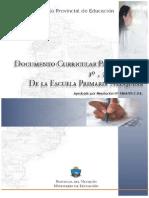 Documento Curricular Primer Ciclo de La Escuela Primaria Neuquina